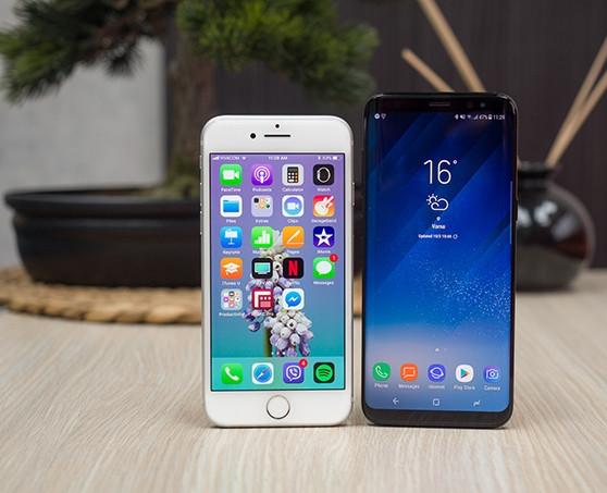 Samsung Galaxy s8 vs Apple iPhone 8