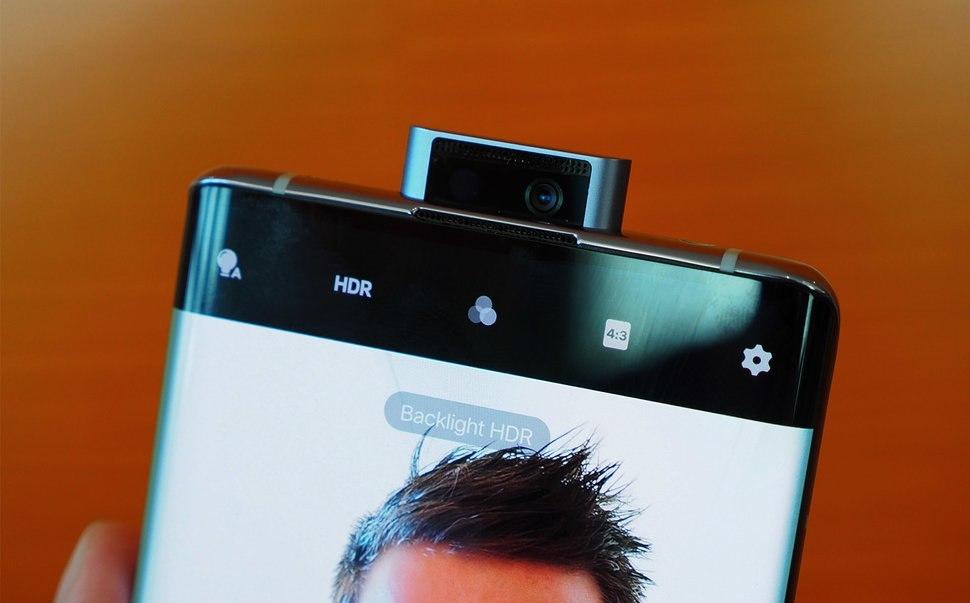 Vivo Nex 3 5G front camera
