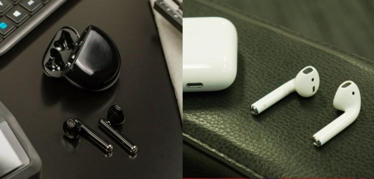 Huawei Freebuds 3 vs AirPods 2