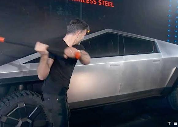Tesla Cybertruck is built tough