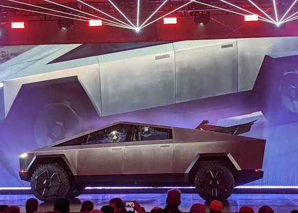 Tesla Cybertruck picture