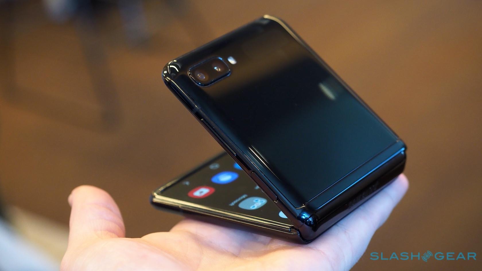 Galaxy Z Flip size