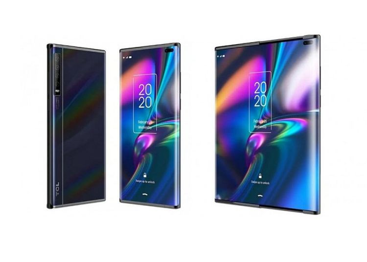 TCL Slide out screen concept phone CNET 1