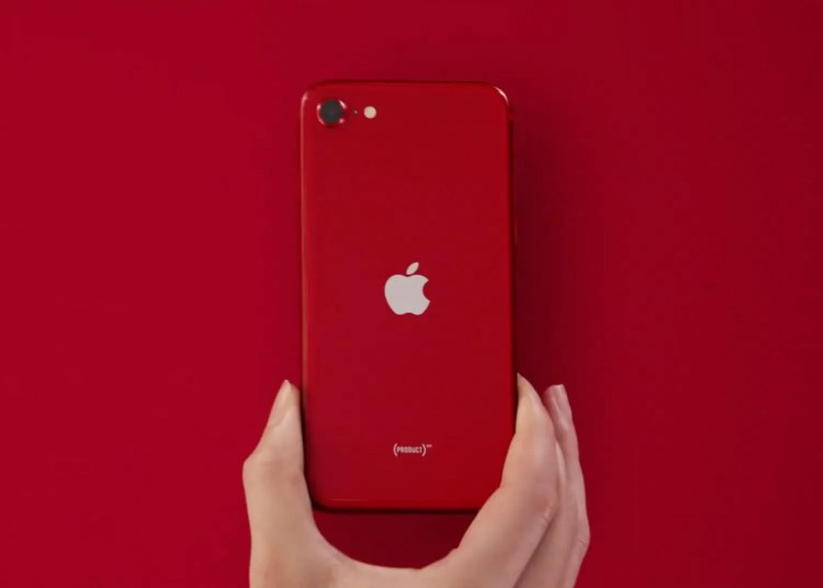 2020 iPhone se red 001