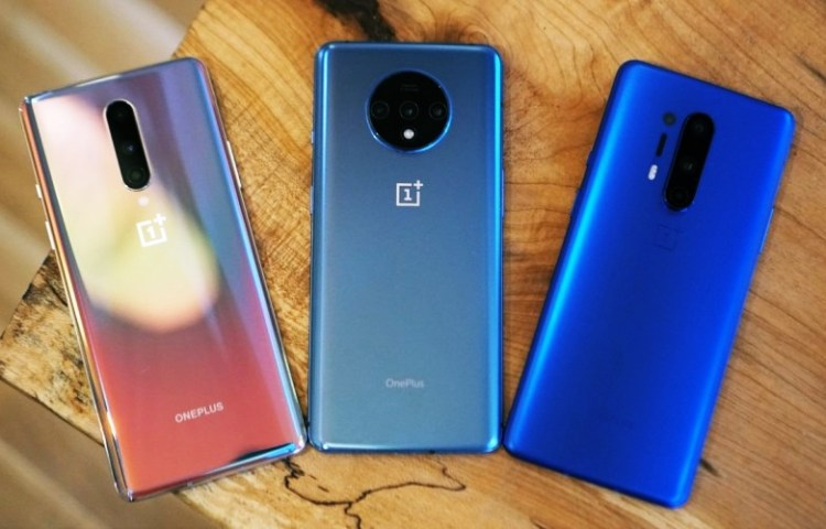 OnePlus 8 and OnePlus 7T and OnePlus 8 Pro