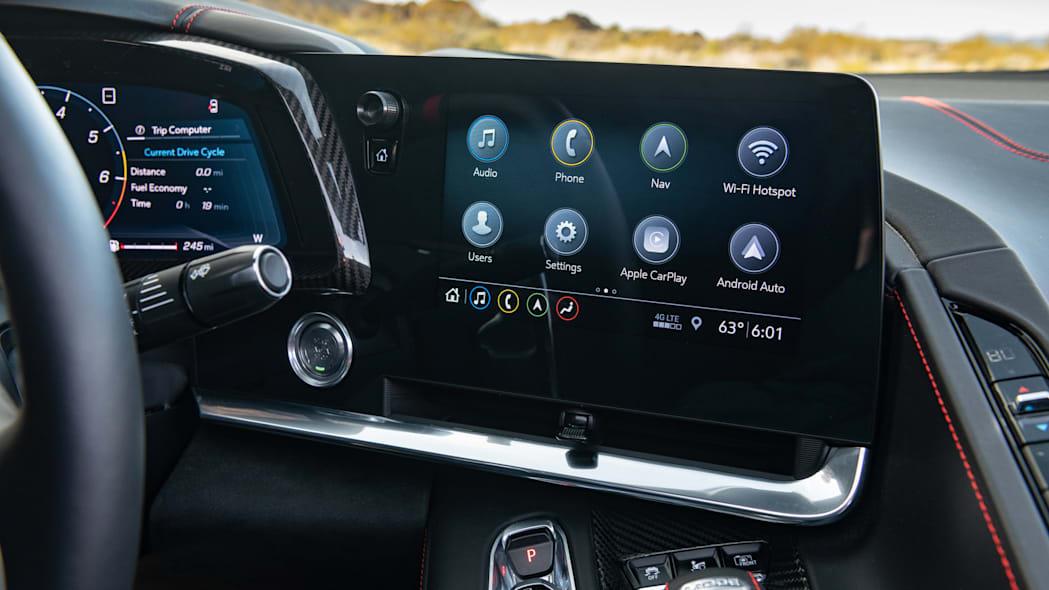 2020 Chevrolet Corvette Stingray touch screen