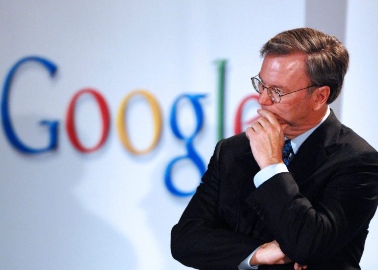 Eric Schmidt quits Google