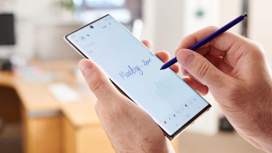 Galaxy Note 20 render