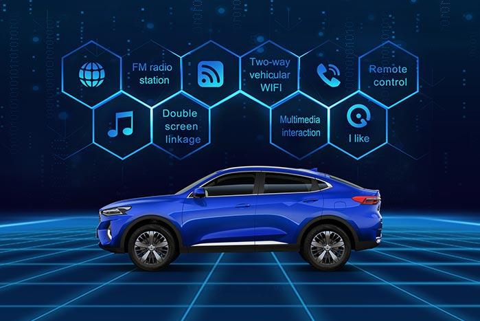 Huawei 5G smart car