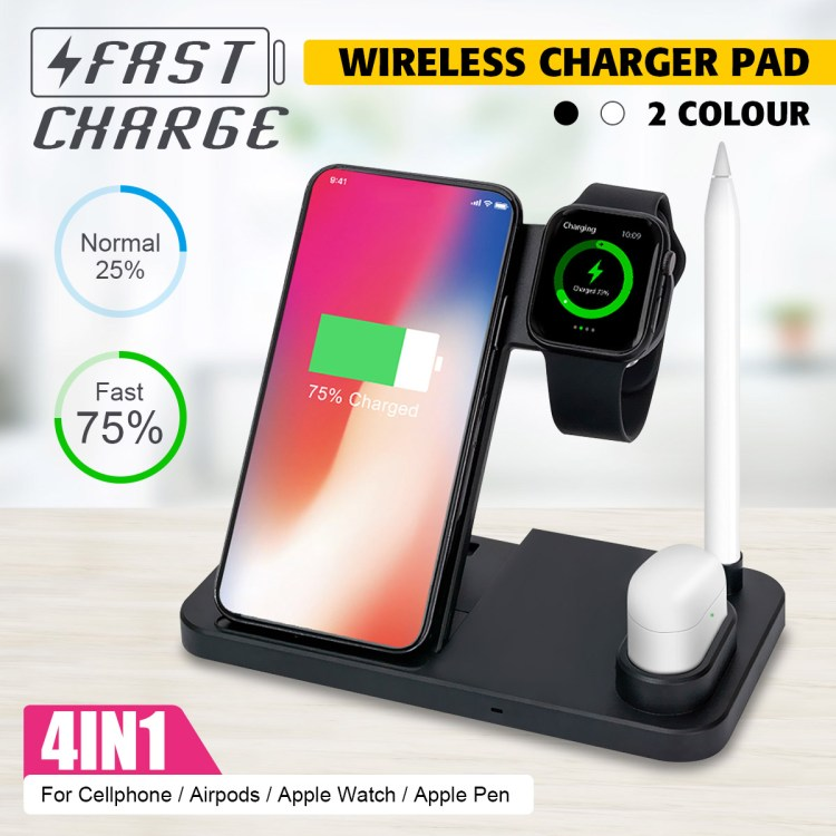 Bakeey 4-in-1 Wireless Charger deal