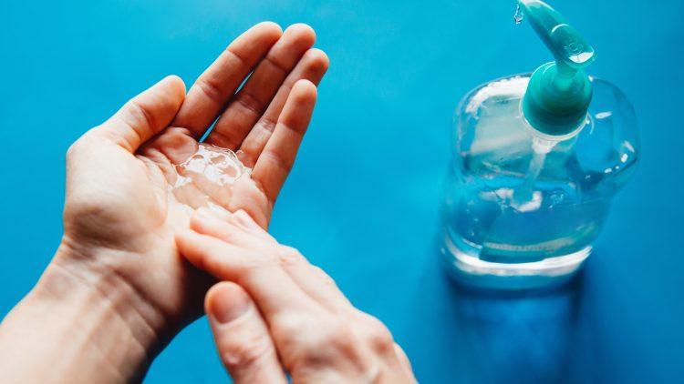 55 Toxic hand sanitizer
