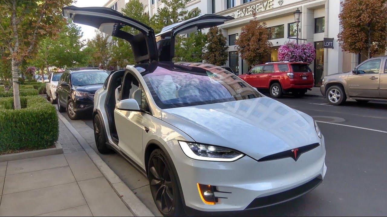 Tesla Car radar sensor