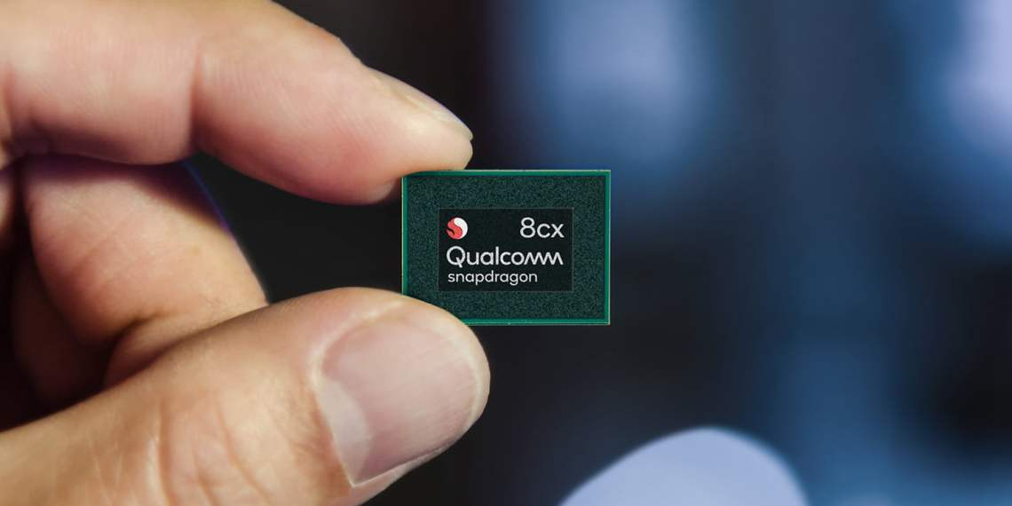 snapdragon 8cx chip front