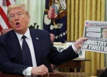 Trump tweet flagged by Twitter
