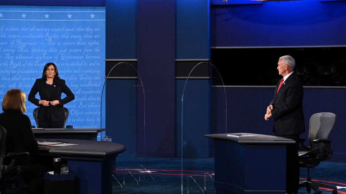 Pence Harris debate