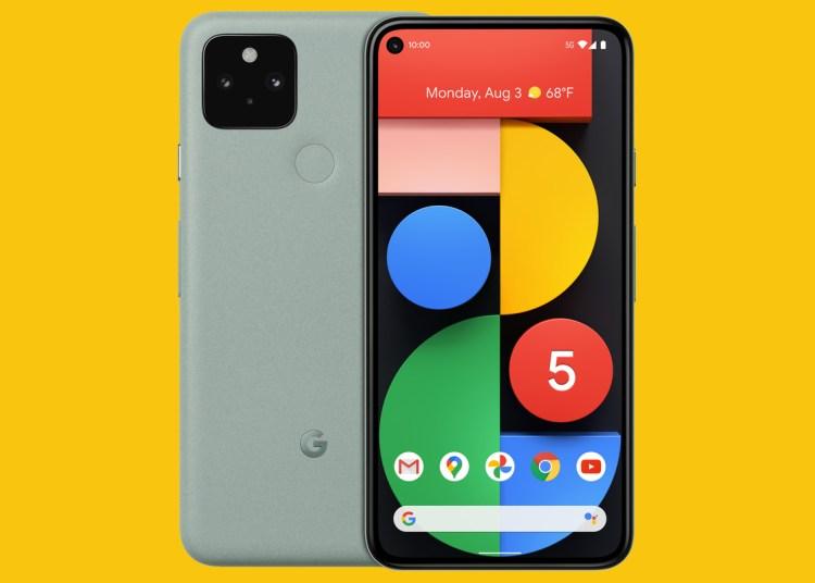 Google Pixel 5 processor