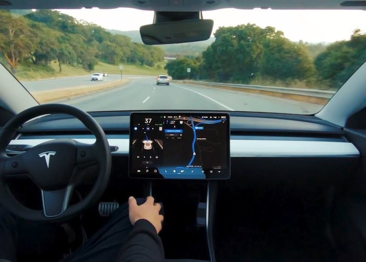 Tesla Full Self-Driving mode in beta
