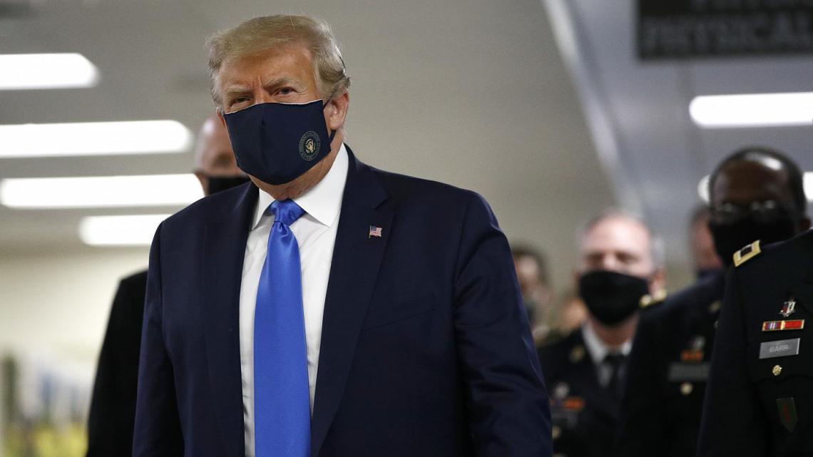 Trump call antibody treatment COVID-19 cure
