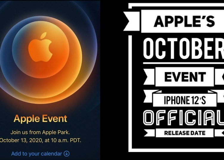 iPhone 12 Oct 13th event