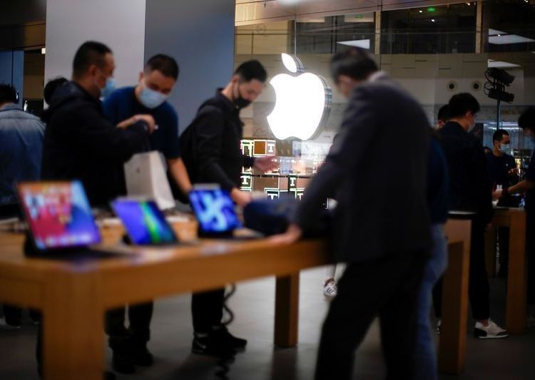 iPhone 12 hit stores in China
