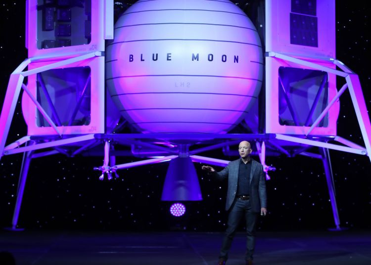 Blue Origin space mission