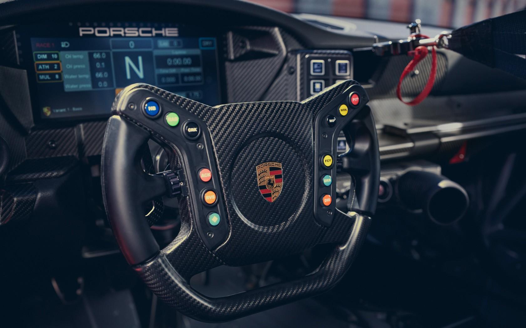 Porsche 911 GT3 Cup 2021 steering wheel