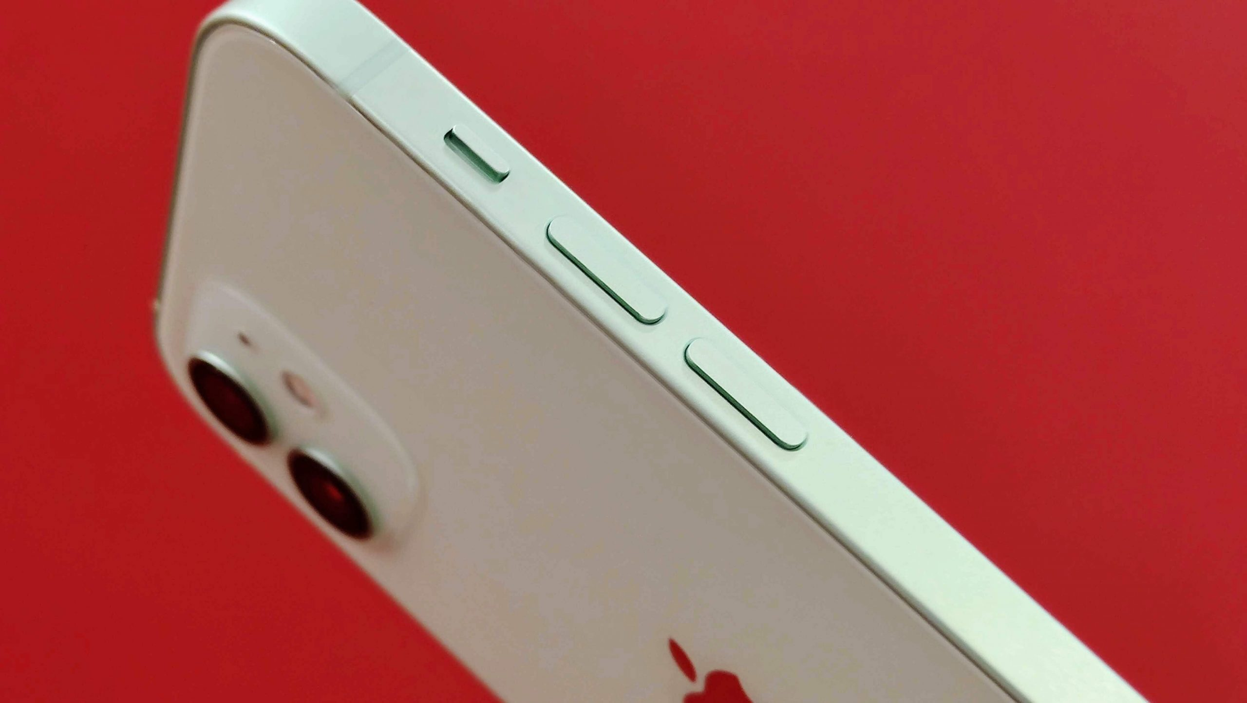 iPhone 12 side buttons