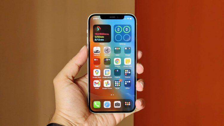iPhone 12 OLED screen