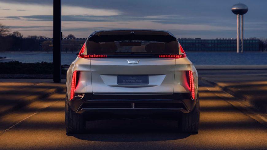 Cadillac Lyriq EV back view