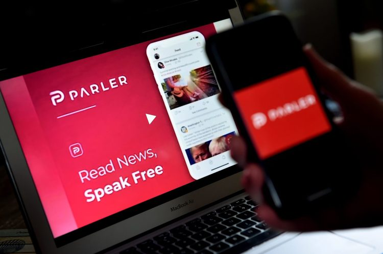 Google ban Parler