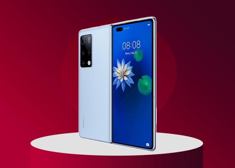 Huawei Mate X2 unfolded