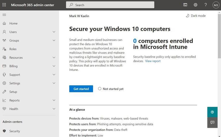 b secure windows10 365