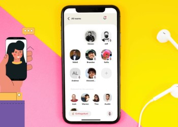 Clubhouse voice chat social network