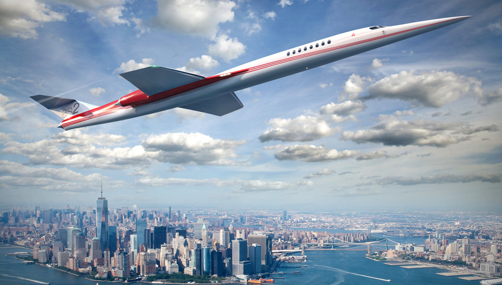 Aerion AS2 supersonic jet speed