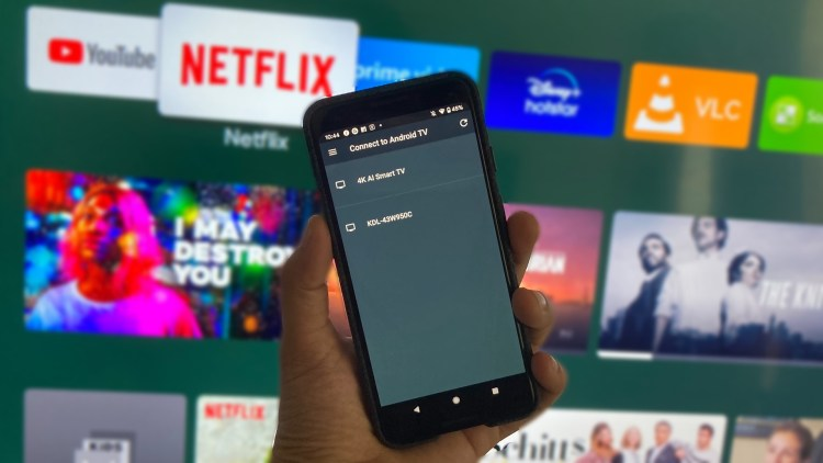 Android 12 TV remote