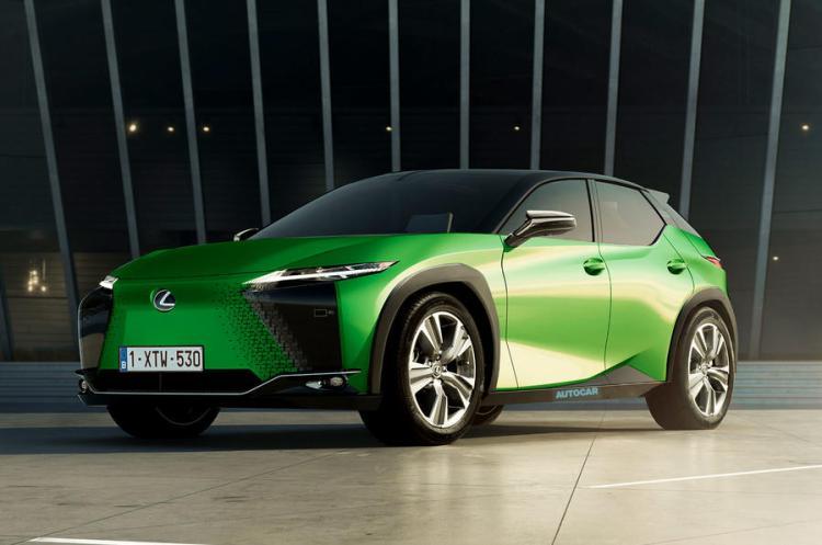 Lexus EV 2022 render