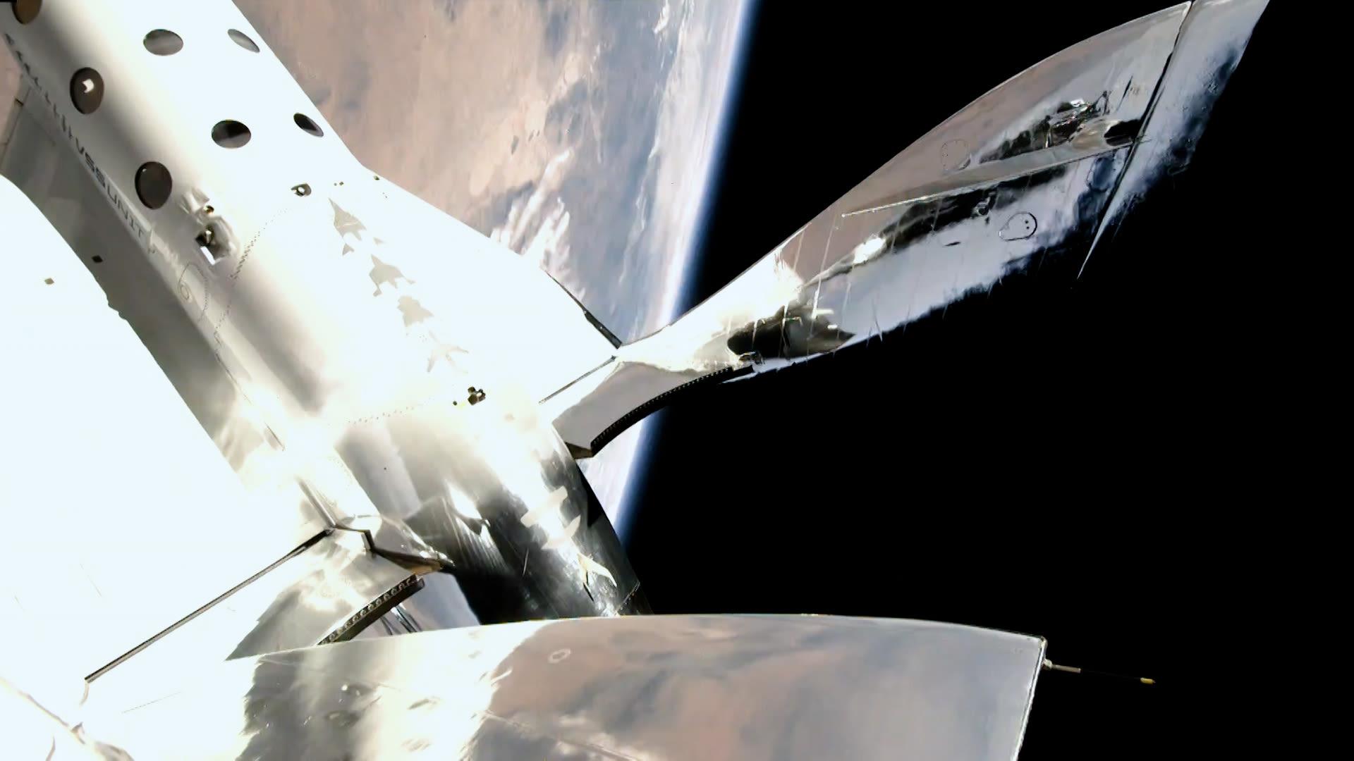 Richard Branson in space 3