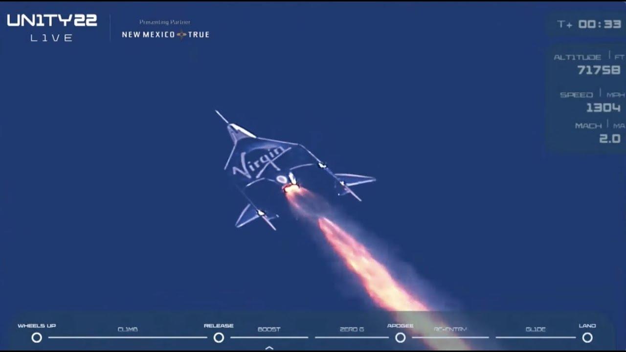 Richard Branson in space 6