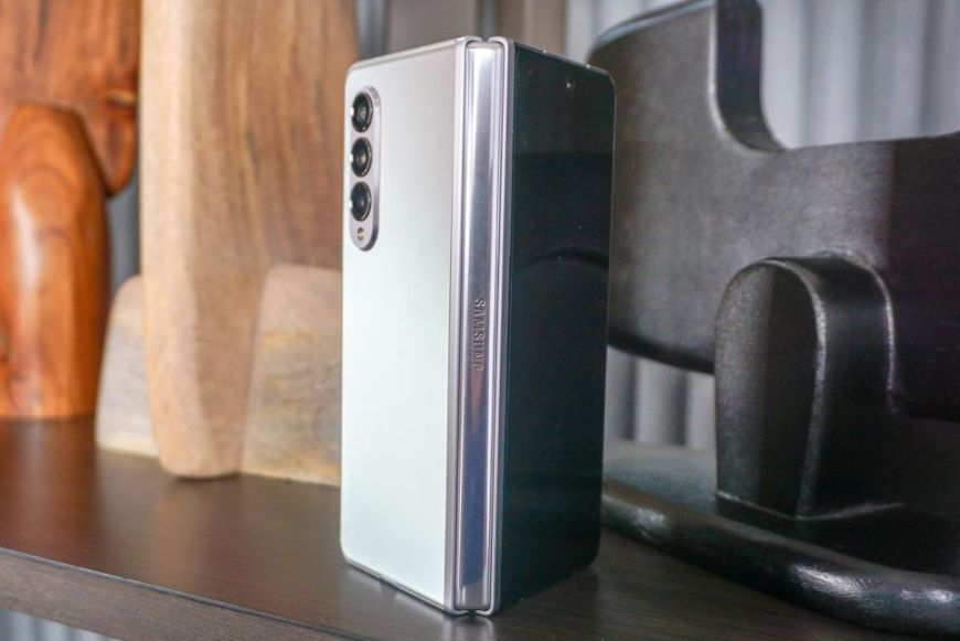 Galaxy Z Fold 3 matte finish