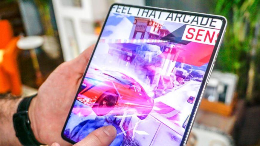 Galaxy Z Fold 3 gaming experience