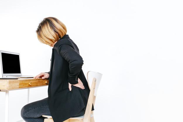 douleur au dos en milieu de travail