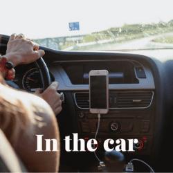 In the car 250 x 250