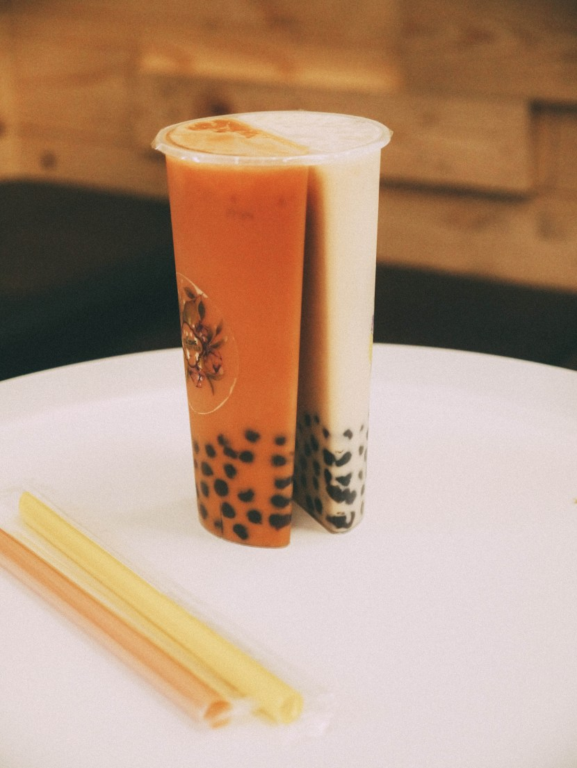 bubble tea from tea zone mountain view | brunch at audrey's