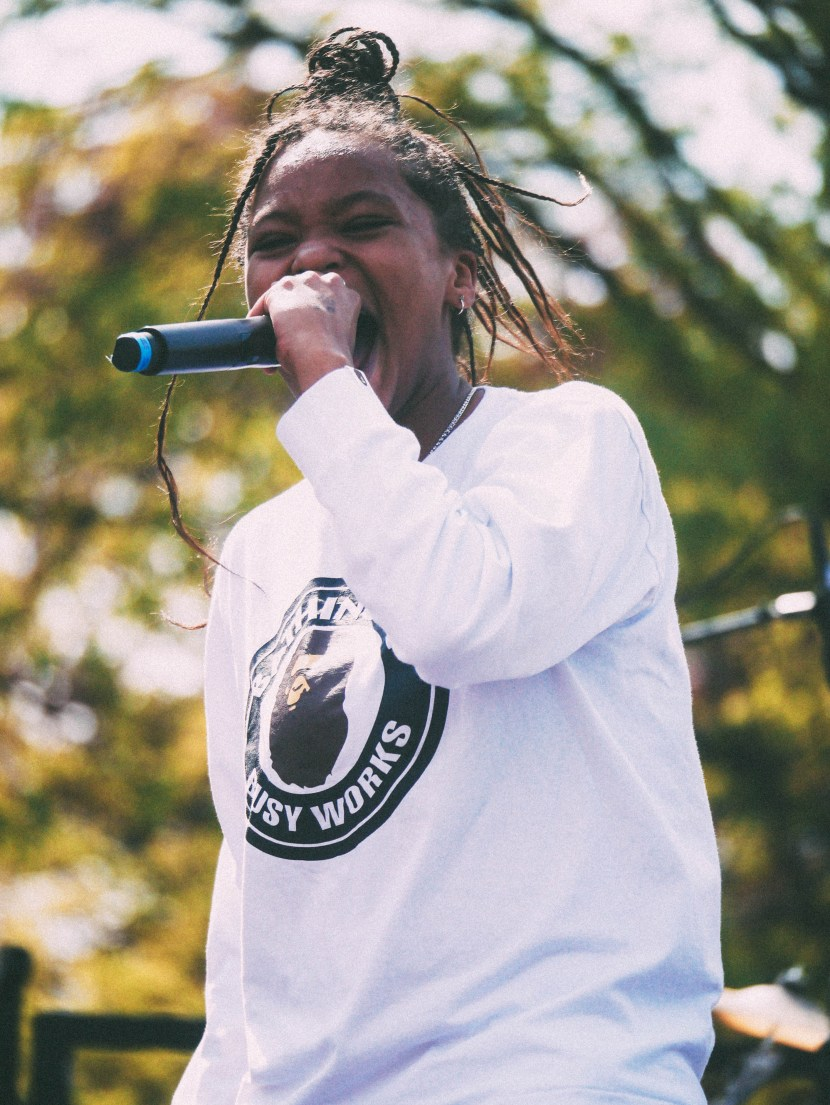 kodie shane at bryn mawr college may day 2017 | brunch at audrey's