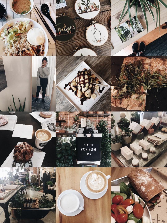 iphone snapshots - seattle, summer break 2017 | brunch at audrey's