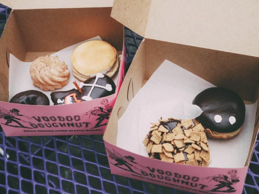 voodoo doughnut - portland, summer break 2017 | brunch at audrey's