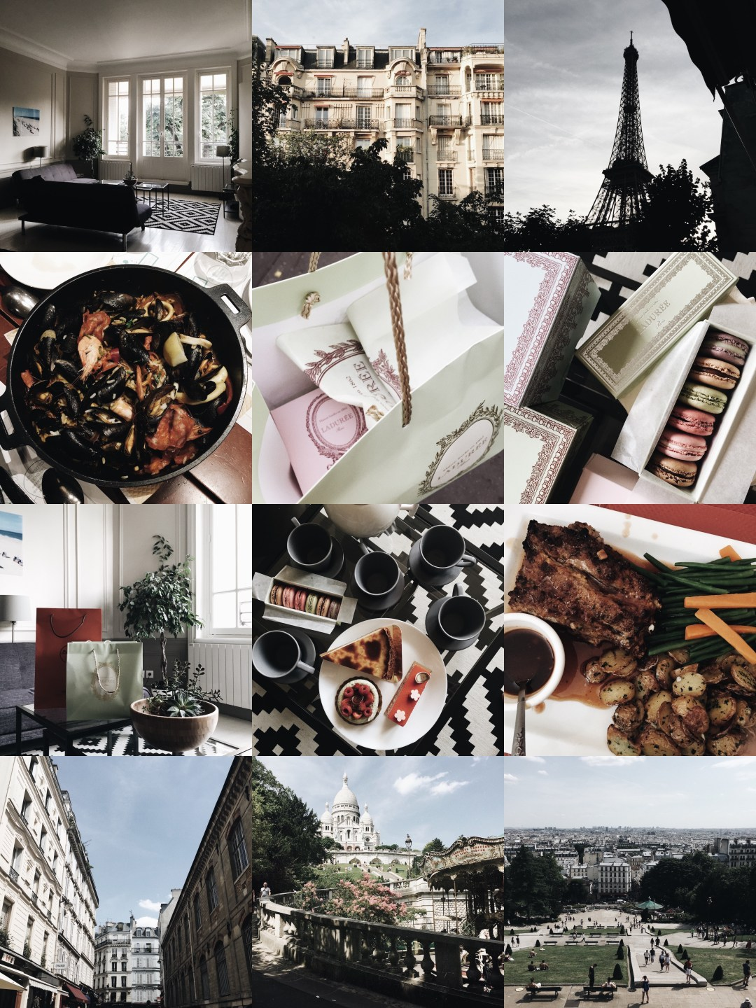 paris snapshots | brunch at audrey's