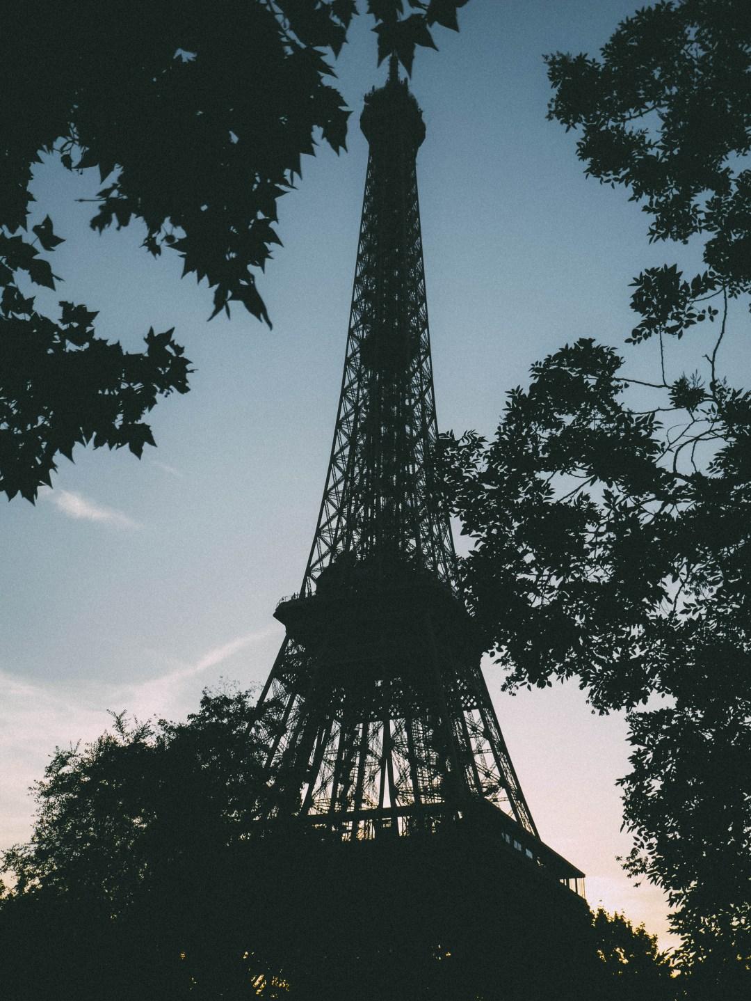 eiffel tower - paris, summer break 2017 | brunch at audrey's