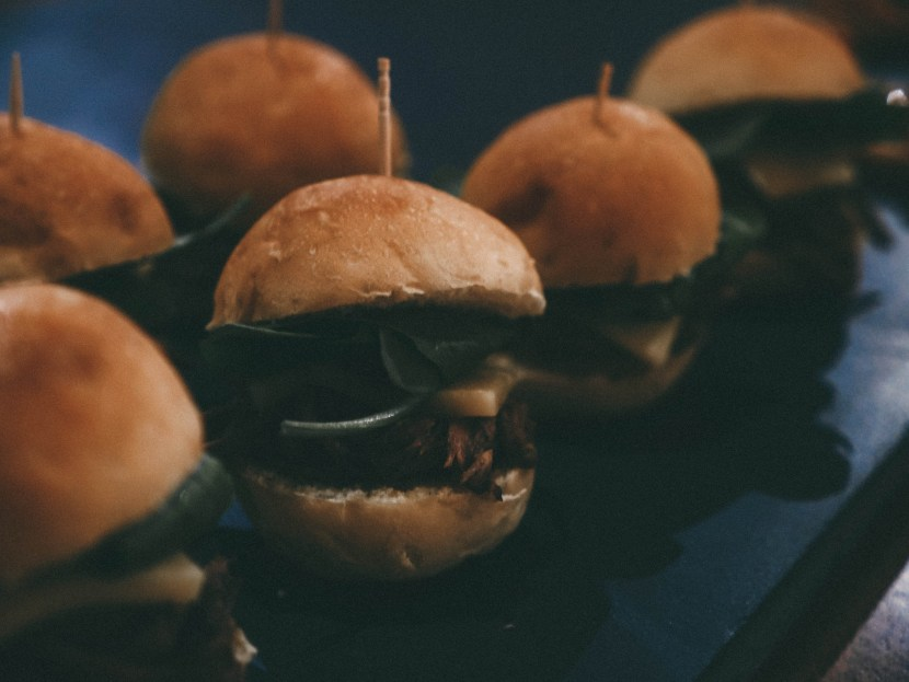 sliders, united by blue | brunch at audrey's