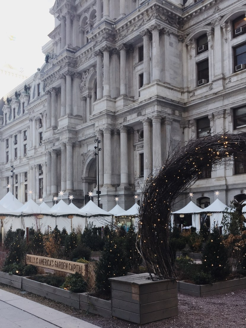 christmas village - december lately | brunch at audrey's